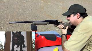 getlinkyoutube.com-Rossi 20 gauge Slug Shooting