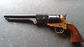 part 1 how to  disassemble reassemble a colt 1851