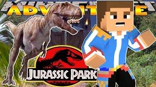 getlinkyoutube.com-Minecraft - Little Donny Adventures - JURASSIC PARK & DINOSAURS  w/ DONUT THE DOG