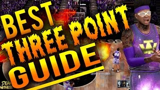 NBA 2K16 Tips: BEST 3 POINT SHOOTING GUIDE! How To Make Three's Consistently EVERY TIME in 2K16!