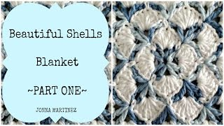 getlinkyoutube.com-Beautiful Shells Blanket Part 1