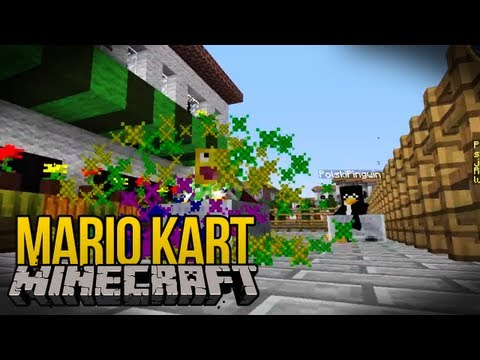 Minecraft Mini-Game - MARIO KART w/ PolskiPingwin