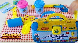 GALINHA PINTADINHA Maleta de Massinha DIVERTIDA / Pig Boss Toy