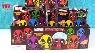 getlinkyoutube.com-Deadpool Series 2 Comic Marvel Figural Keyrings Blind Bag Opening | PSToyReviews