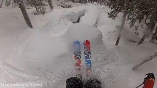 getlinkyoutube.com-GoPro Skiing HD Hero: Pow day on the hill (Whistler Jan 21st, 2012)