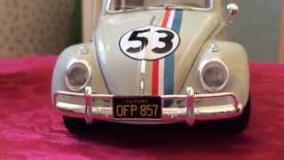 Hot Wheels Elite Herbie The Love Bug Disney 1/18