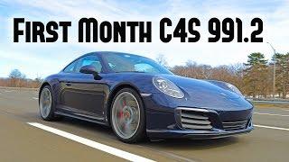 First month update Porsche 991.2 911 Carrera 4S, update, issues, running costs