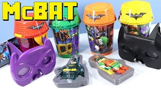 getlinkyoutube.com-McDonald's Happy Meal The LEGO Batman Movie Collection 2017