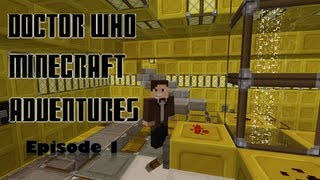 getlinkyoutube.com-Doctor Who Minecraft Adventures Ep.1: A Ghastly Welcome