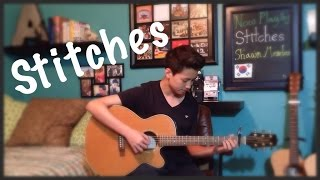 getlinkyoutube.com-Stitches - Shawn Mendes - Fingerstyle Guitar Cover