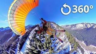 getlinkyoutube.com-Speed Flying 360 Video Crystal Mountain