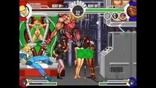 getlinkyoutube.com-Mugen Captain Commando Me vs Everyone pt 1