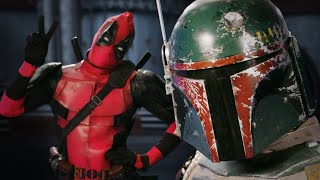 getlinkyoutube.com-Deadpool vs Boba Fett.  Epic Rap Battles of History - Bonus Battle!