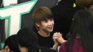 getlinkyoutube.com-[FANCAM] BEAST 비스트 YoSeob @ Youngdeungpo Fansigning Event 110605