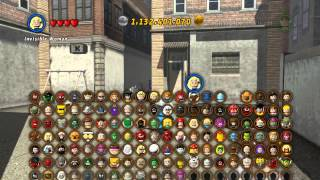 getlinkyoutube.com-LEGO Marvel Super Heroes The Video Game - Mr Fantastic free roam