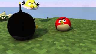 getlinkyoutube.com-ANGRY MINECRAFT part 6 Angry Birds Animation1