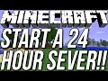 How To Start A 24/7 Server In Minecraft 1.8.3!!