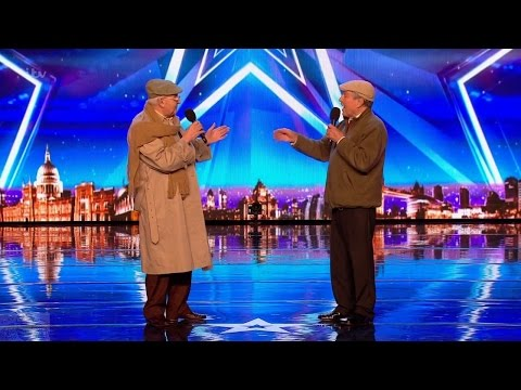 Britain's Got Talent 2017 The Pensionaires Adorable Octogenarian Singers Full Audition S11E06