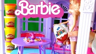getlinkyoutube.com-Кукла Барби Киндер сюрприз серия 35 Приключения Барби на русском