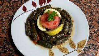 getlinkyoutube.com-ورق العنب بزيت الزيتون على الطريقة اللبنانية شهي