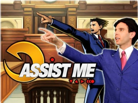 'ASSIST ME!' - Phoenix Wright and Iron Fist: Ultimate Marvel vs Capcom 3 Live Action Tutorial