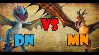 getlinkyoutube.com-Deadly Nadder vs Monstrous Nightmare