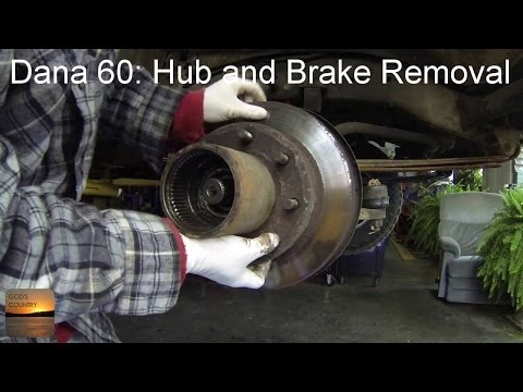 Dana 60 Axle: How To Disassemble and Remove Hubs