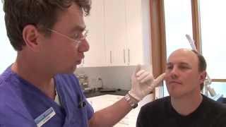 getlinkyoutube.com-Tränenrinnen mit Hyaluronsäure auffüllen