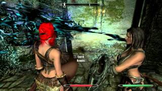 getlinkyoutube.com-Skyrim Devourment Highlights #1: Lydia seems Hungry!
