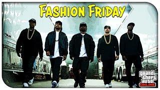 "getlinkyoutube.com-GTA 5 Online - ""STRAIGHT OUTTA COMPTON"" FASHION FRIDAY! (Eazy E, Ice Cube & More) [GTA V]"