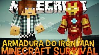 getlinkyoutube.com-Minecraft Survival Ep.39 - Armadura do Homem de Ferro