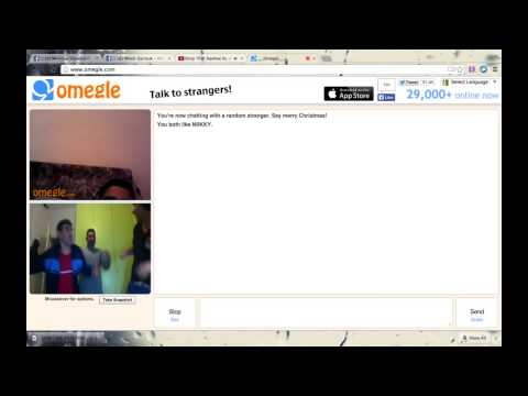 Omegle With My DAD and 3ammi ( Best la9ta xD )
