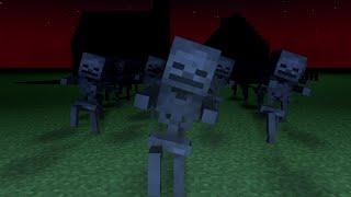 getlinkyoutube.com-Minecraft - Spooky Scary Skeletons (Remix) - Minecraft Animation Music Video