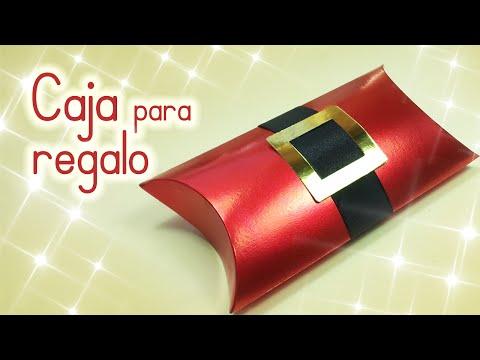 Manualidades para Navidad: CAJA para REGALO navideña - Innova Manualidades