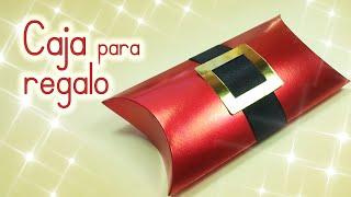 getlinkyoutube.com-Manualidades para Navidad: CAJA para REGALO navideña - Innova Manualidades