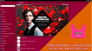 getlinkyoutube.com-Rosadin TV + Pack de Listas en Full HD ║10 Noviembre 2016