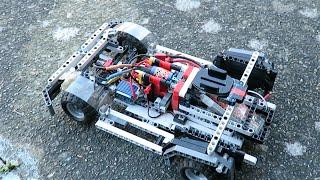 getlinkyoutube.com-Possibly the fastest Lego Car