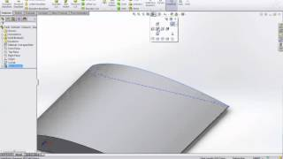 getlinkyoutube.com-Ep.1 - How to build a wing in solidworks starting from coordinates