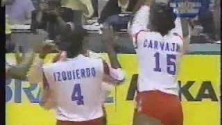 getlinkyoutube.com-Brasil vs Cuba Final Mundial de voley 1994 ( set 3)