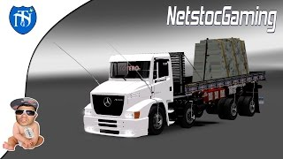 getlinkyoutube.com-Euro Truck Simulator 2 - ETS 2 Mods Reviews MB 1620│ATRON REEDIT by DAVID RAMIREZ│NetstocGaming