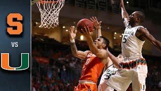 getlinkyoutube.com-Syracuse vs. Miami Basketball Highlights (2015-16)
