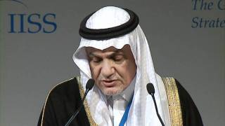 IISS GSR 2011: HRH Prince Turki Al Faisal - It is time for a WMD-free zone in the Middle East width=