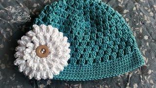 getlinkyoutube.com-Tutorial Gorro Bebé Fácil Crochet o Ganchillo