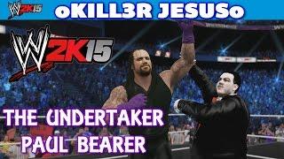 WWE 2K15 Community Creations The Undertaker Paul Bearer I WWE CAW PS4 XBOX ONE