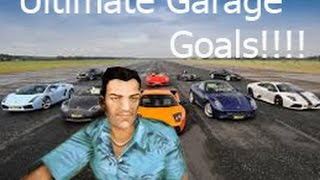 The Ultimate Garage Goals!!!! GTA Vice City Mods #1