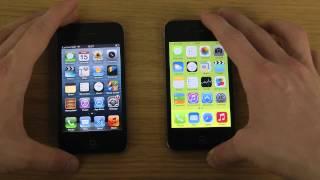 getlinkyoutube.com-iPhone 4 iOS 7 vs. iPhone 4 iOS 6 - Opening Apps Speed Test