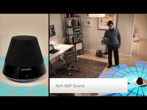 First Look Sony HomeShare Wireless Home Audio System Office Overview Video