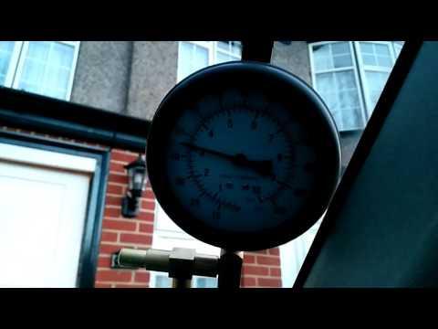 Focus Zetec E fuel pressure test
