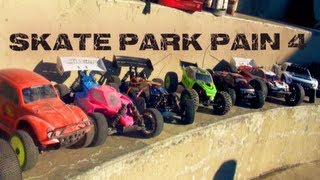 getlinkyoutube.com-RC ADVENTURES- SKATE PARK PAIN 4 - KiNG OF THE RiNG - DiRT iS FOR WiMPS - Concrete LOOP