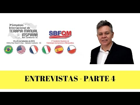 Vídeo: Simpósio Internacional de Terapia Manual -Entrevistas Parte 4 - YouTube